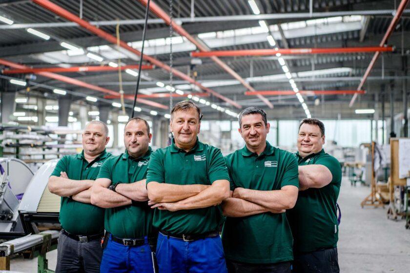 Über uns_Unternehmen_Team Mitarbeiter Produktion