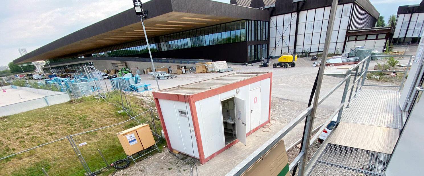 CiO München - 4.4. Fichtenholzverschalung + PR Fassade West