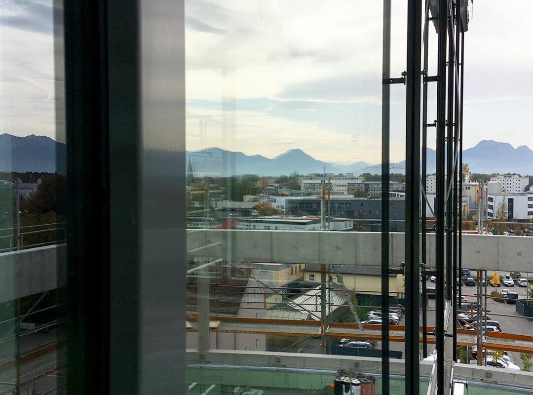 RoMed Klinik - PR Fassade Dach West Glas
