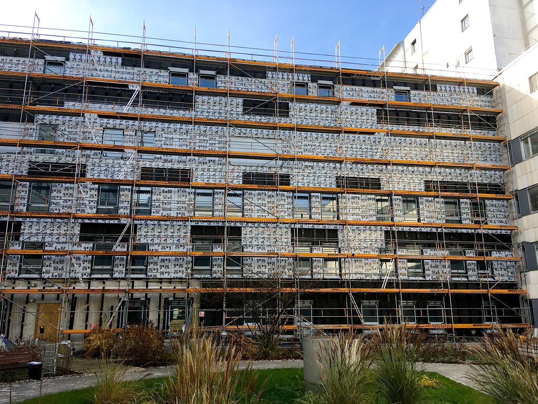 RoMed Klinik - Aluminium Fassade Ost