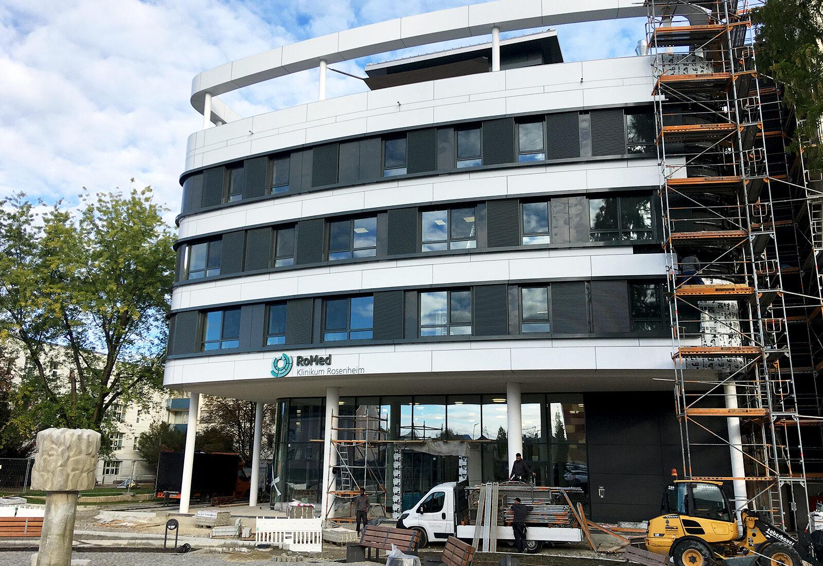 RoMed Klinik - Südseite Neubau